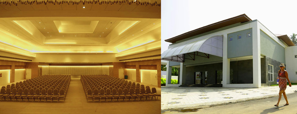 G.V. Raja Convention Centre,  Kovalam